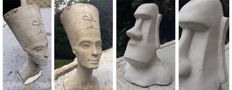 Nefertiti / Moai