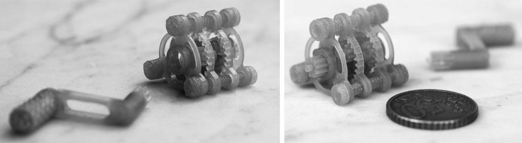 Modèle réduit - Impression résine : précision 25 microns