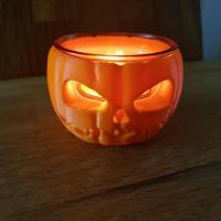 Bougie Halloween 2 / Cire par moulage / HB3D SAS