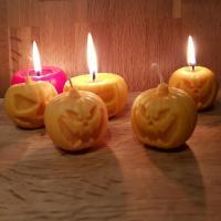 Bougies Halloween / Cire par moulage / HB3D SAS