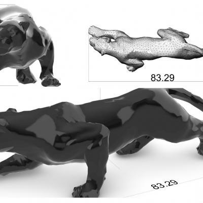Hb3d sas modelisation 3d jaguar