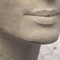 Impression 3d beton nefertiti detail hb3d sas