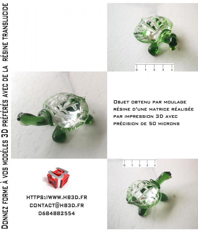 Moulage resine hb3d sas