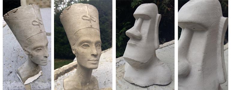 Nefertiti moai